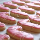 Peppermint Candy Cane Cookies with Peppermint Icing