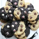 Double-Chocolate-Peppermint-Chip-Swirl-Cookies-fbcookieswap-from-@LifeMadeSweeter