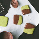 chocolate-dipped-matcha-shortbread