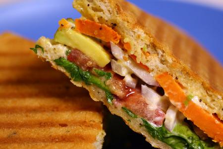 Sweet Potato & Avocado Sandwiches