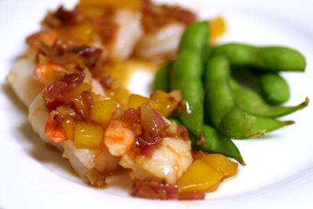 Mango Spiced Shrimp