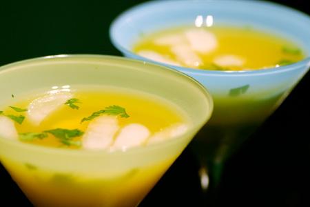 Mango Cilantro Margaritas