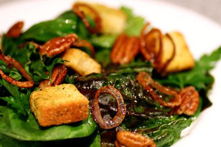 Farmers Market Salad with Fried Shallot