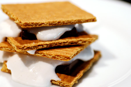Homemade Marshmallow S'mores
