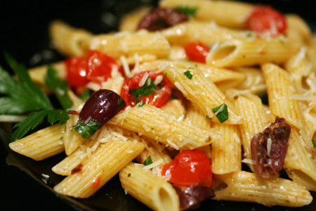 Tomato and Olive Penne | Love and Olive Oil