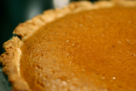 Pumpkin Brulee Pie