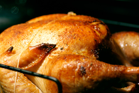 Turkey Right out of the Oven