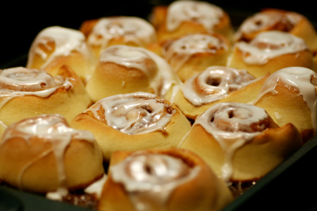 Mini Almond Cinnamon Rolls