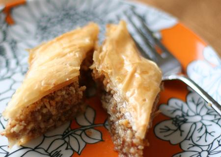 Almond and Walnut Baklava