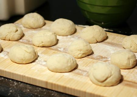Making Pita Bread