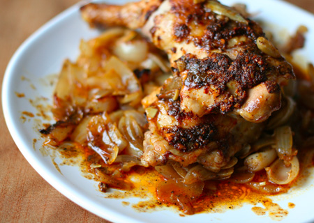 Berbere Roasted Chicken