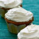 Vegan White Chocolate Macadamia Nut Cupcakes