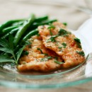 Turkey Picatta and Green Beans