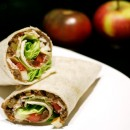 Lentil Apple and Turkey Wraps