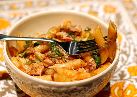 Pappardelle with Chicken and Mushroom Ragu
