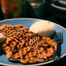 Pre Thanksgiving Dinner: Pumpkin Waffles
