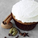 Spiced Chai Latte Cupcakes with Swiss Meringue Buttercream