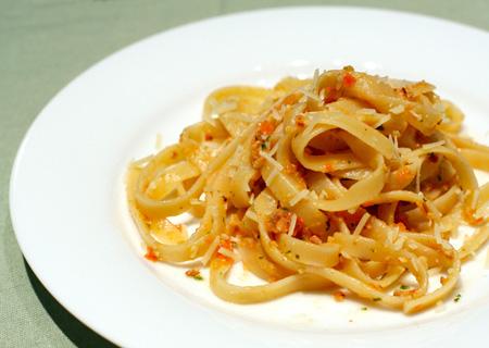 Linguine with Pesto Trapanese