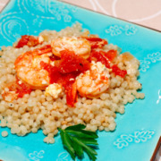 Baked Shrimp with Feta
