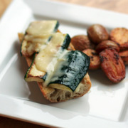 Gruyère-and-Zucchini Sandwiches with Smoky Pesto