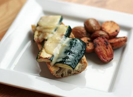 Gruyère-and-Zucchini Sandwiches with Smoky Pesto
