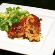 Panko-Coated Chicken Schnitzel
