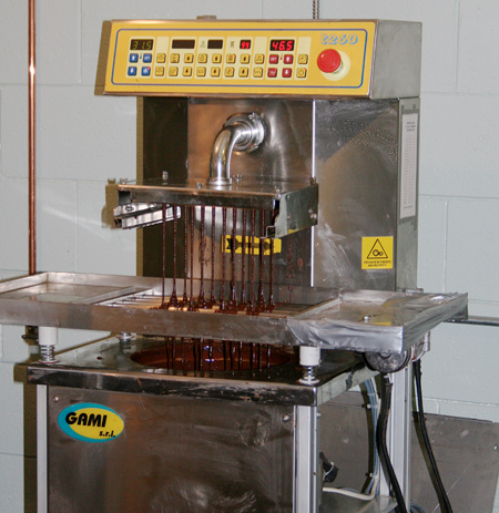 Tempering the Chocolate