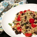 Black-Bean and Tomato Israeli Couscous