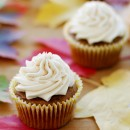 Sweet Potato Cupcakes with Maple Spice Buttercream