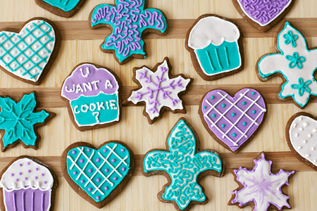 Bettie Landis's Holiday Gingerbread Cookies