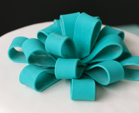 Fondant Ribbon Bow
