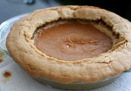 Pumpkin Pie FAIL
