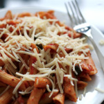 Favorite Pasta - Spicy Tomato Olive Penne