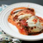 Eggplant Parmesan Lasagna with Swiss Chard
