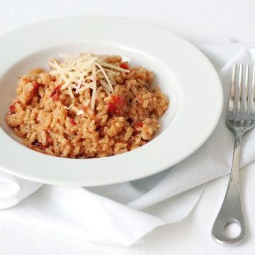 Sundried Tomato Risotto
