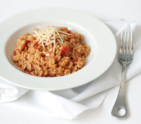 Sundried Tomato Risotto