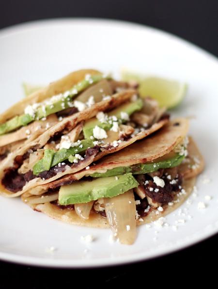 Chipotle Roast Chicken Tacos