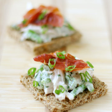 Open-Face Chicken Salad Sandwiches
