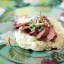 Steak with Cucumber and Radish Salsa