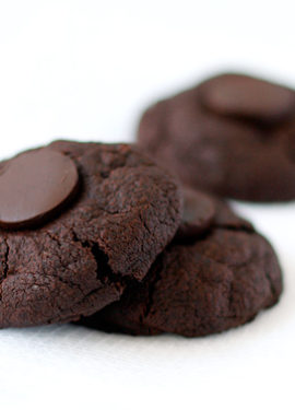 Triple Chocolate Midnight Cookies