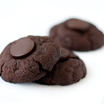 Triple Chocolate Midnight Cookies