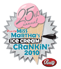 Miss Martha's Ice Cream Crankin