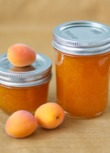 Apricot Jam Two Ways - Apricot Butter & Apricot Riesling Jam