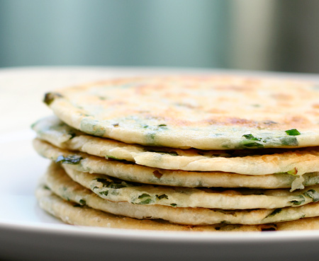 Scallion Pancakes | Love and Olive Oil