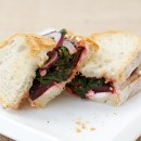 Roasted Beet and Goat Cheese Sandwiches
