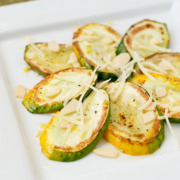 Zucchini Salad with Lemon, Parmesan, and Almonds
