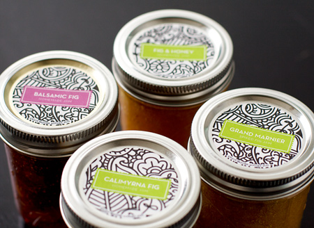 Fig Jam Cute Canning Labels