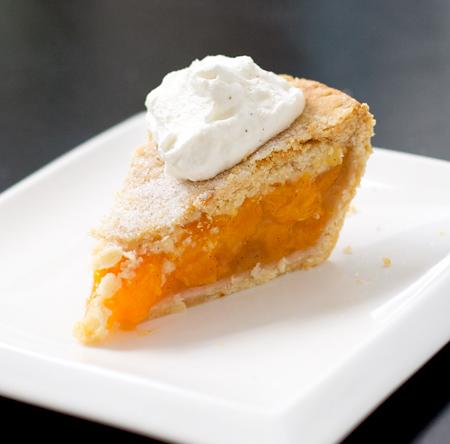 Vanilla Peach Pie