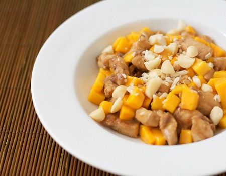 Mango and Macadamia Chicken