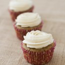 Fig Spice Cupcakes with Honey Cinnamon Buttercream